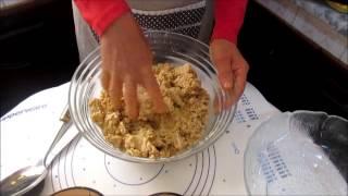 getlinkyoutube.com-Ghraiba : Pâtisserie Tunisienne. مرطبات تونسية - غريبة