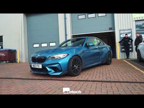 BMW M2 Comp ... springs 12mm wheel spacers Motech performance