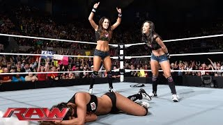 Brie Bella vs. AJ Lee: Raw, November 17, 2014