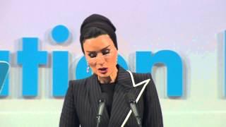 getlinkyoutube.com-Her Highness Sheikha Moza bint Nasser of Qatar speaks at the World Education Forum 2015