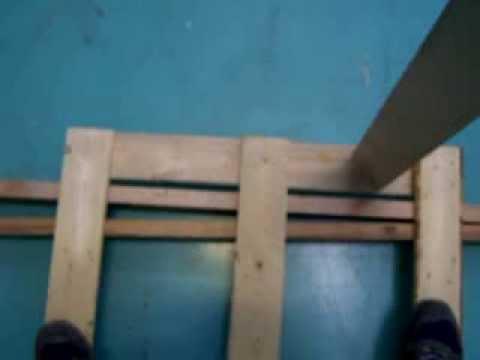 Come costruire una sedia a dondolo con i pallet fai da - Costruire sedia a dondolo ...