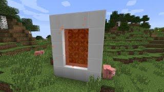 getlinkyoutube.com-Minecraft: How to make a Portal to Candyland - (Minecraft Portal to Candyland)