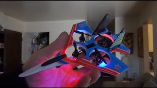 Top Race Su-27 / F22 Jet Quadcopter Review & Flight Test