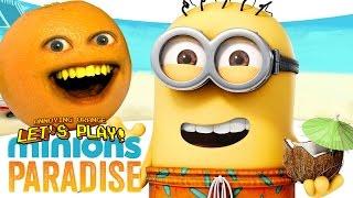 getlinkyoutube.com-Annoying Orange Plays - Minion Paradise