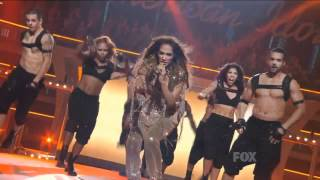 getlinkyoutube.com-Jennifer Lopez Ft  Pitbull   Live On The Floor American Idol HD