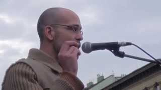 getlinkyoutube.com-Megademonstrace Praha 17. 11. 2015 - Zdeněk Chytra