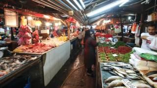 chow kit fruit and vegetable street market kuala lumpur malaysia asia wkv0zkynh  D