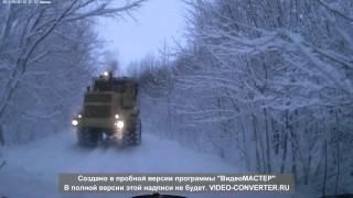 getlinkyoutube.com-К 700. и гололед.зима 2013