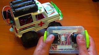 Как сделать дистанционное управление своими руками для робота