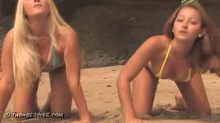 getlinkyoutube.com-^micro bikini girls on the beach (hd)