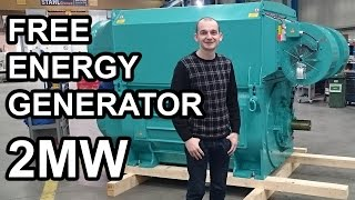 getlinkyoutube.com-Free Energy Generator 2MW