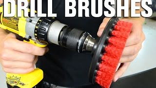 getlinkyoutube.com-Auto Detailing Drill Brushes