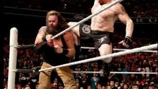 getlinkyoutube.com-WWE Rumor: Brock Lesnar vs Braun Strowman at Wrestlemania 32