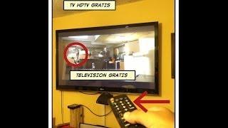 getlinkyoutube.com-✔ como ver television gratis hdtv tdt . antena FLAT, {FACIL} con madera y latas.