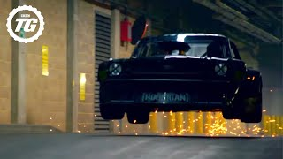 getlinkyoutube.com-Ken Block Drifts London – EXTENDED Director's Cut - Top Gear - BBC
