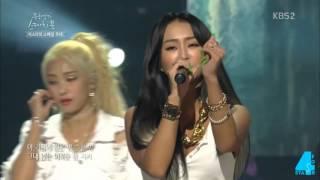getlinkyoutube.com-Why We Love SISTAR? - 1 Reason: Hyorin Raps (4Stars)