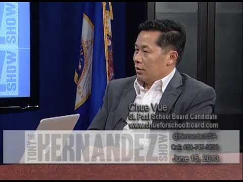 St. Paul School Board Candidate Chue Vue and Yazdan Bakhsh
