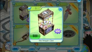 getlinkyoutube.com-Animal Jam: New Penguin Claw Machine