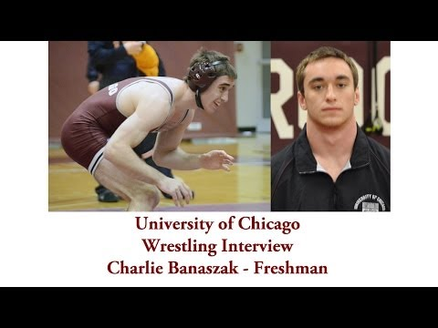 UChicago Athletics: Wrestling Interview with Charlie Banaszak
