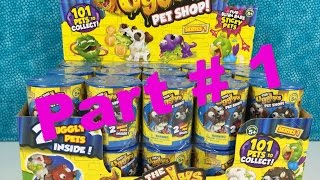 getlinkyoutube.com-The Ugglys Pet Shop Full Case Box Palooza Part 1 Series 1 Unboxing Toy Review