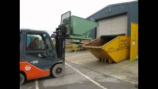 Tong Auto Roll Tipping Skip