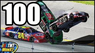 getlinkyoutube.com-100 Ways To Die In NASCAR