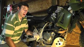 getlinkyoutube.com-KLR 650 Maintenance: How to Perform an Oil Change