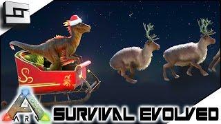 ARK: Survival Evolved - WINTER WONDERLAND! RAPTOR CLAUS!  S2E110 ( Gameplay )