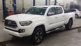 getlinkyoutube.com-2016 Toyota Tacoma Limited Double Cab 4x4 Automatic Transmission Walk-Around and Review