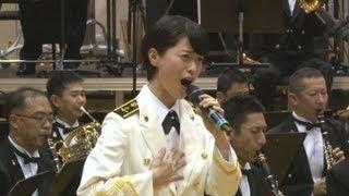"""歌で人々に尽くしたい 自衛隊の""""歌姫""""三宅由佳莉さん"""