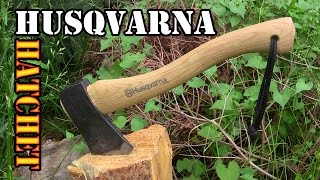 Best Hatchet for Under $50? Husqvarna 13