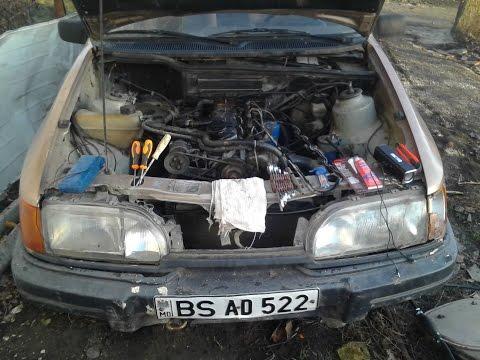 Ford Sierra 2.3 diesel восстановление 1