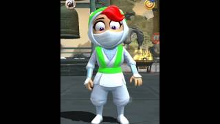 Clumsy Ninja. KIRA GAMEPLAY!!!