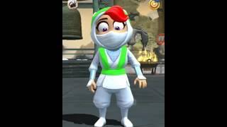 getlinkyoutube.com-Clumsy Ninja. KIRA GAMEPLAY!!!