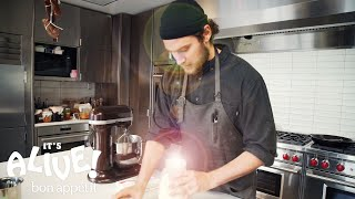 Brad Makes Cultured Butter | It's Alive | Bon Appetit width=