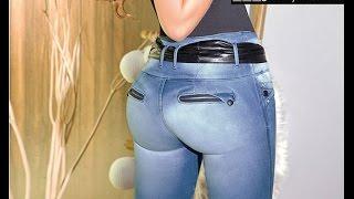 getlinkyoutube.com-Luzzette jeans levantacola Quito Ecuador y mas Seven 7 jeans Marzo 2015
