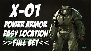 getlinkyoutube.com-Fallout 4 - X-01 Power Armor [FULL SET] (Easy to get)