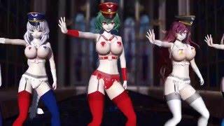 【MMD】Bakunyu Sentai Pai Rangers 【TOUHOU R - 18】