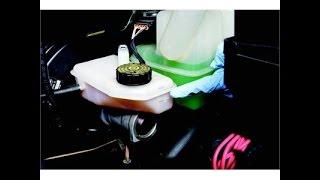 getlinkyoutube.com-Mécanque auto - peugeot 407 Clair et simple remplacement du liquide de frein  تغيير زيت الفرامل