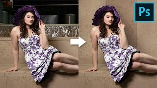 How to Cover Distracting Background in Photoshop