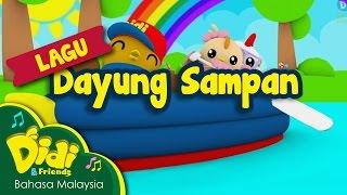 getlinkyoutube.com-Lagu Kanak Kanak | Dayung Sampan | Didi & Friends