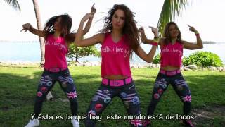 getlinkyoutube.com-Se Sufre Pero Se Goza Remix (Choreo&Lyrics) Megamix 56 - Maritza/Janettsy/Jessica - Max Pizzolante