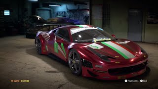 "getlinkyoutube.com-Need for Speed 2015 - ""Ferrari 458 GT3"" - 970 HP Build !!! (Max Grip Settings) (Gameplay)"