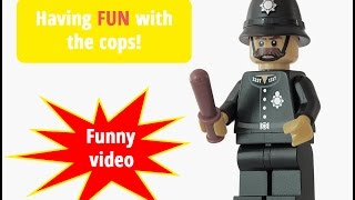 Having fun with the cops ★FUNNY Video bw humor