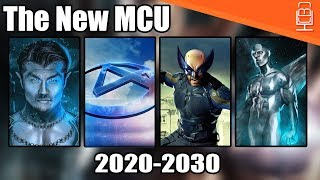 The 30+ MCU Films Marvel is Developing Including Fantastic Four, X-Men & More