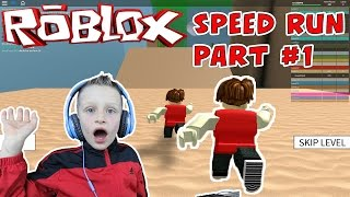 getlinkyoutube.com-Roblox: Speed Run 4 - Let's play gameplay video - part #1