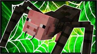 MUTANT SPIDER PIG!   Minecraft Roleplay   Mutant Creatures Mod