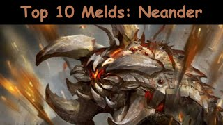 getlinkyoutube.com-Deck Heroes: [NEANDER] Top 10 Melds 4-Star Creatures