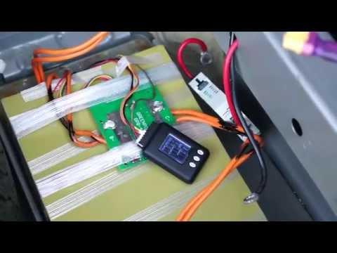 Тест LIFePo4 A123 20Ah аккумулятора, как стартерного на автомобиле