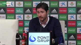 Resumen de las declaraciones de Víctor Sánchez, Ceballos y Pezzella tras el Betis-Celta
